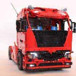 LEgo Technic Euro Tractor Truck - Bricksafe