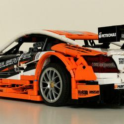 Mercedes Benz Amg C63 Dtm Moc Manual And Rc In 110 Scale2 Bricksafe