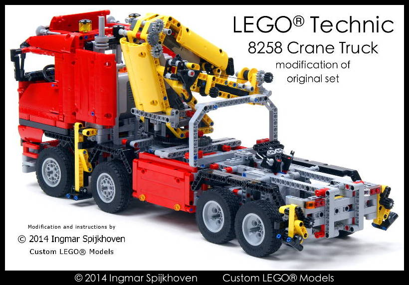 Modification Technic Set 8258 With Free Instructions Bricksafe