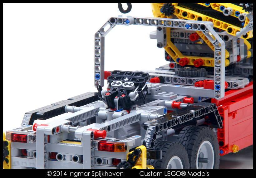 Modification Technic set 8258 with free instructions - Bricksafe