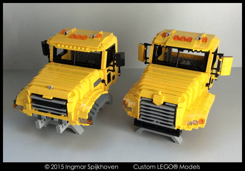 lego mack truck instructions