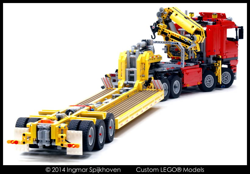 Truck Trailer Lego Technic Truck Trailer