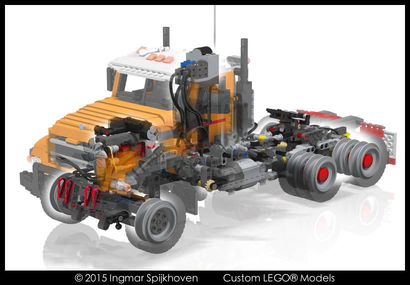 Truck T12 Mkii Mack Granite With Instructions Bricksafe