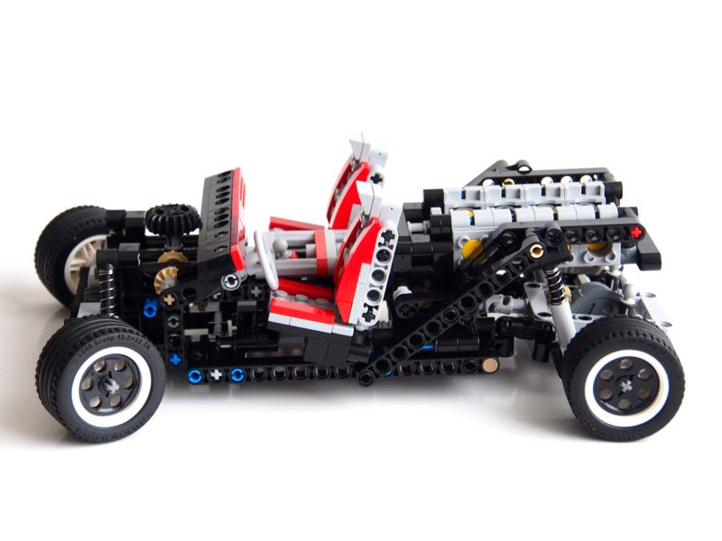 lego technic car chassis instructions