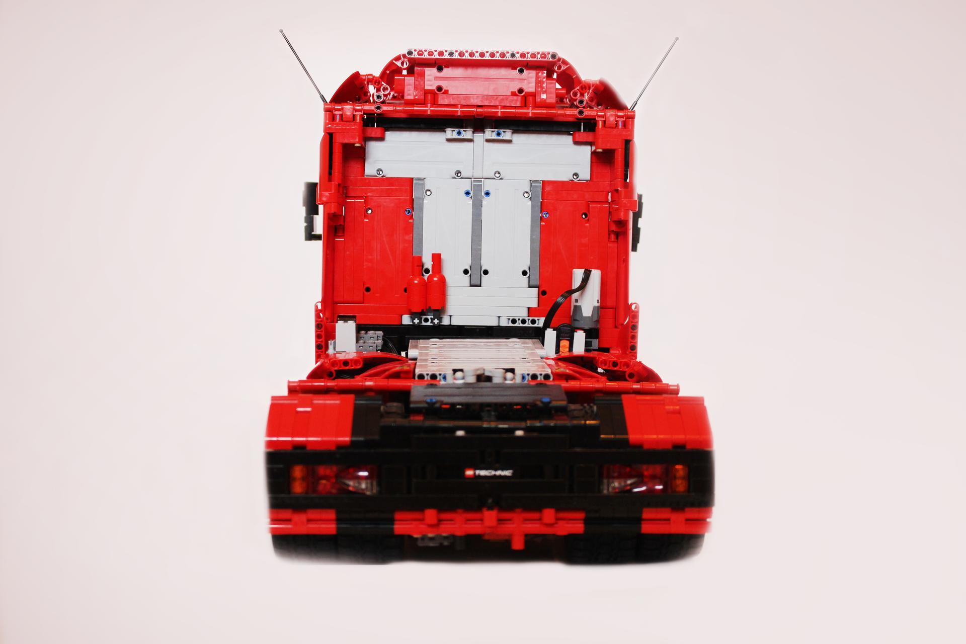 lego technic semi truck instructions