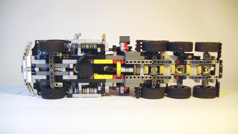 MOC] Kenworth T800 tridem - LEGO Technic and Model Team