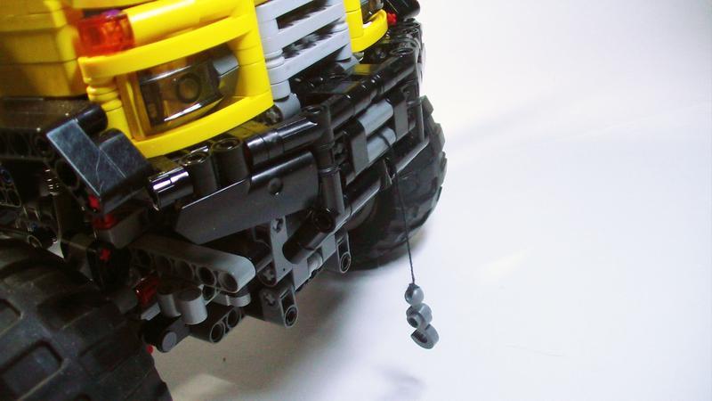 Lego Technic Bull Trial Truck Bricksafe