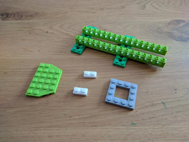 Lego Moc 6718 Wedo 20 Crocodile Educational And Dacta Mindstorms