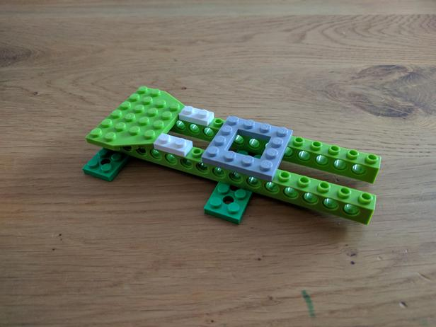 Lego Moc 6718 Wedo 20 Crocodile Educational And Dacta Mindstorms