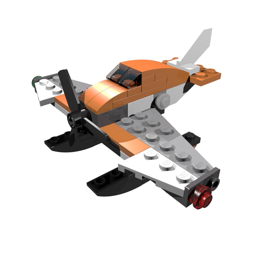 lego seaplane instructions 31028