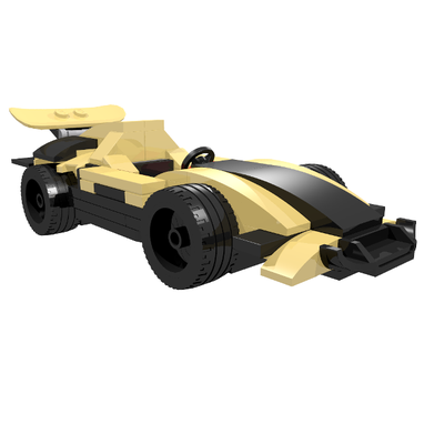 LEGO MOC-9486 75909 Hornet Race Car (Speed Champions 2017