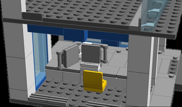 Lego City Garage : Lego moc city garage town u e city u e supplemental