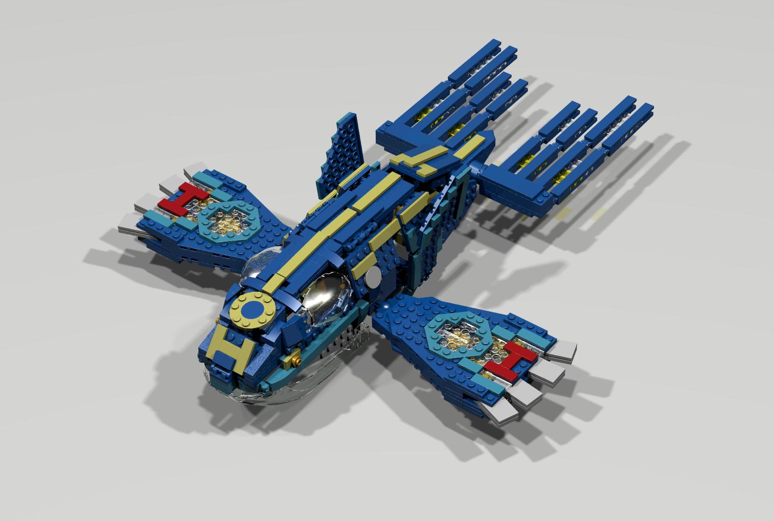 Primal kyogre bricksafe - Lego pokemon rayquaza ...