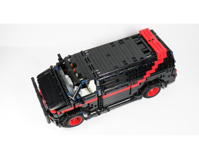 Technic moc 5945 a-team van by chade mocbrickland