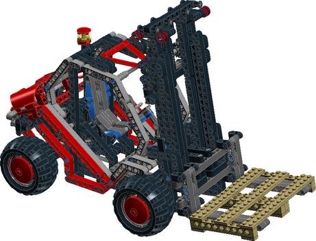 Moc 5555 8416 Fork Lift Rc By Chilekesh Bricksafe