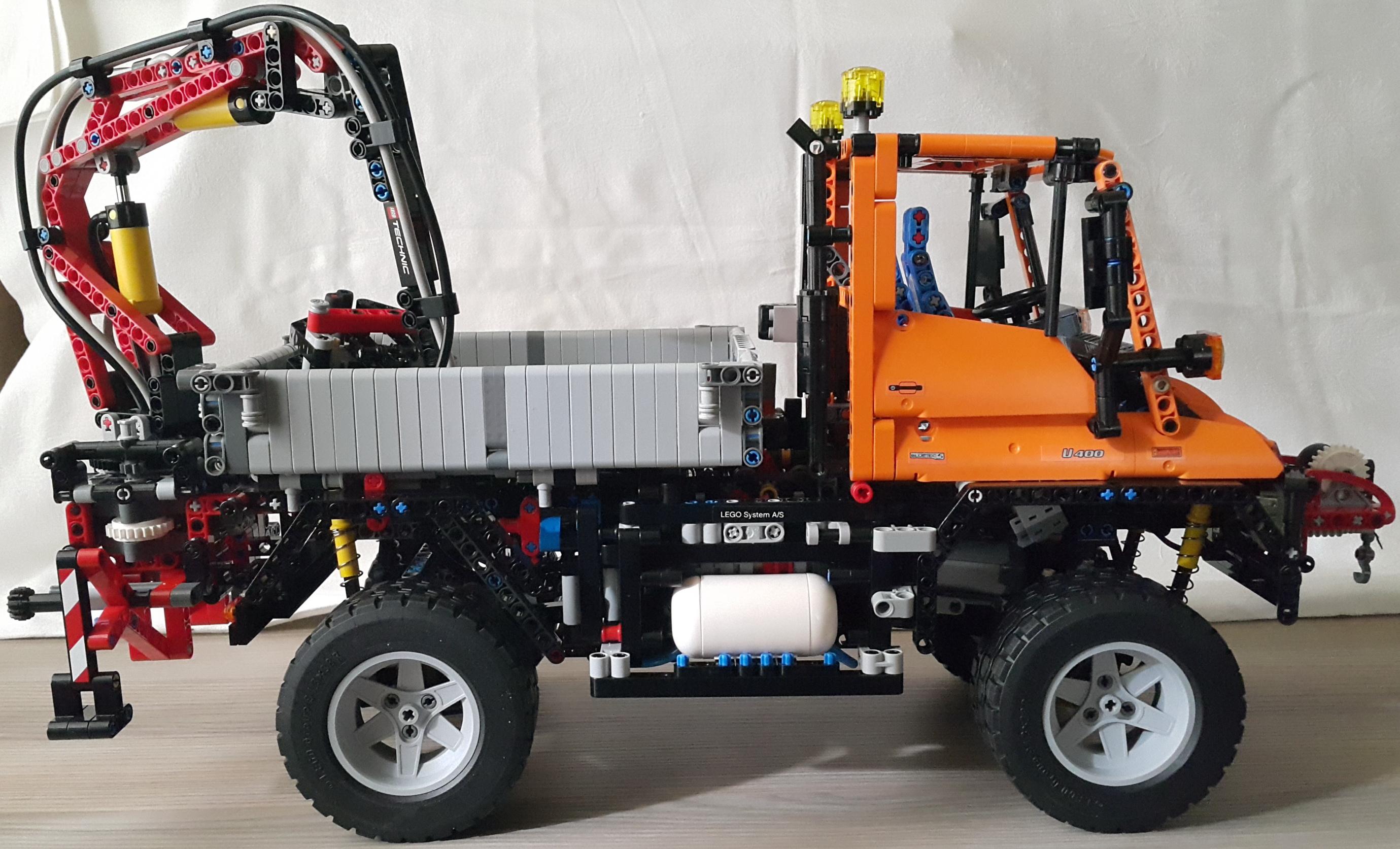 Moc 3286 8110 Unimog Rc By Jens Bricksafe