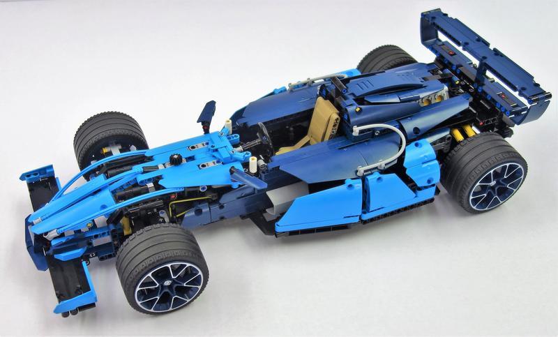42083 B Model Bugatti Formula 1 Race Car Lego Technic And Model Team Eurobricks Forums