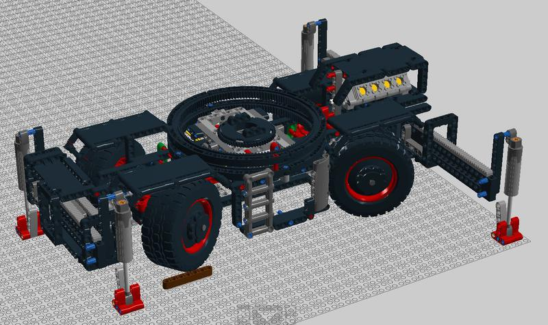 42082 Rough Terrain Crane Mods And Improvements Lego Technic