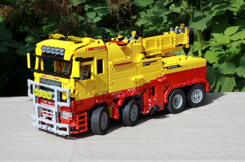 MOC] Recovery Vehicle/Tow Truck Mk II - LEGO Technic, Mindstorms ...