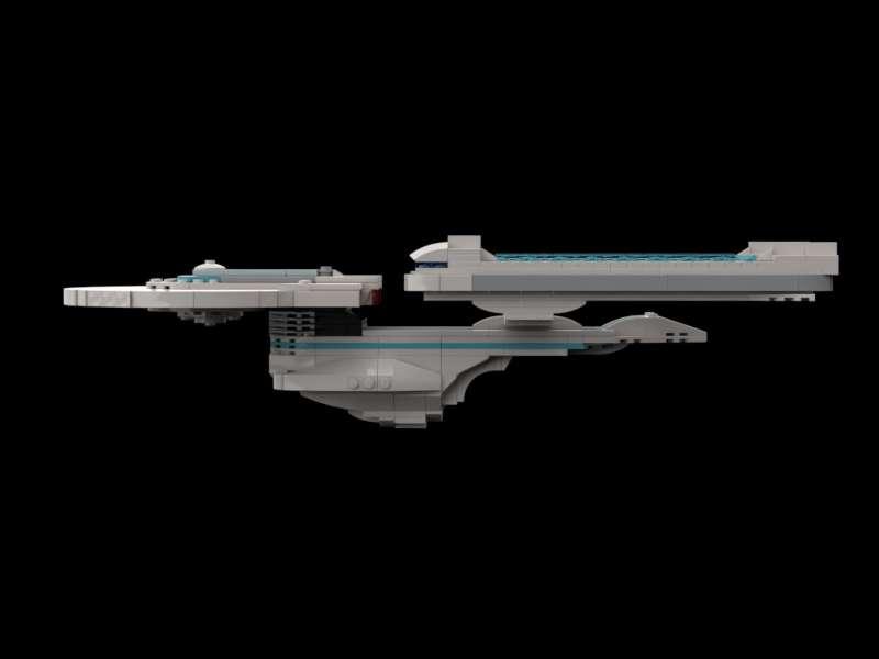 LEGO STAR TREK Instructions/Parts List USS Enterprise A/REFIT ...