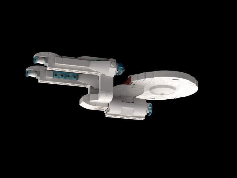 Uss Enterprise Ncc 1701 2009 Alternate Bricksafe