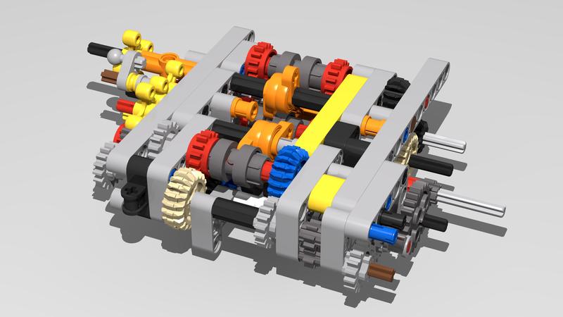 42083 Bugatti Chiron Mods And Improvements Page 9 Lego Technic