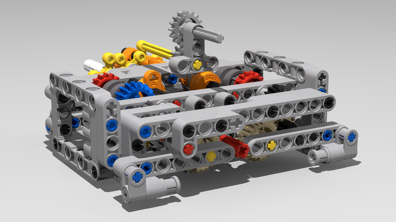 42083 Bugatti Chiron Mods And Improvements Page 9 Lego Technic And Model Team Eurobricks Forums
