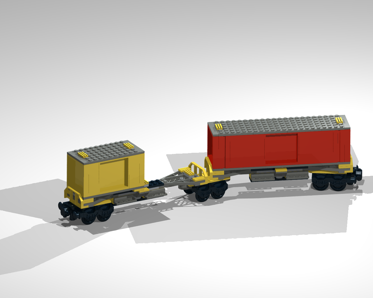 12 wheel extension of 7939 container trolley bricksafe for Extension container