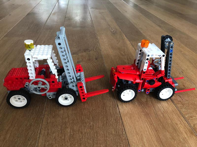 8835-red-forklift-studless side by side