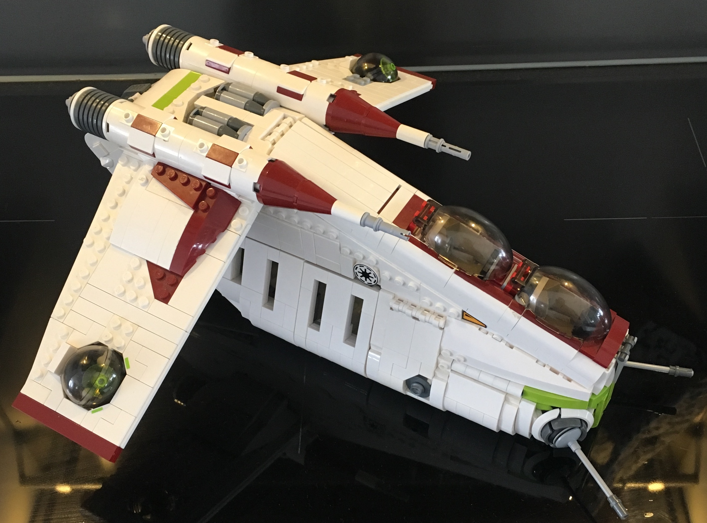 Lego Moc 6002 Republic Gunship Star Wars 2016 Rebrickable
