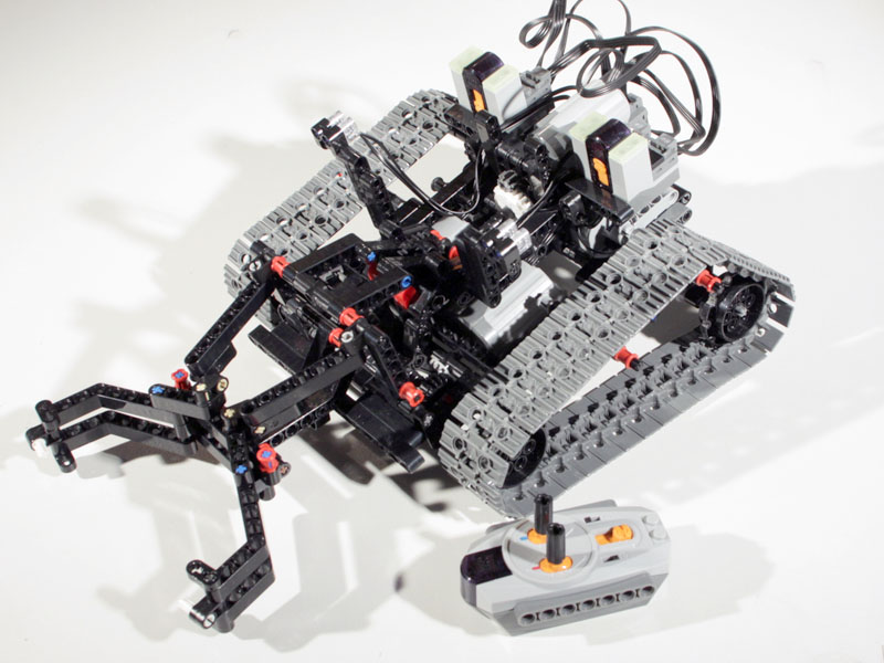 MOD] 8275B Robotic Crawler - LEGO Technic, Mindstorms & Model Team ...