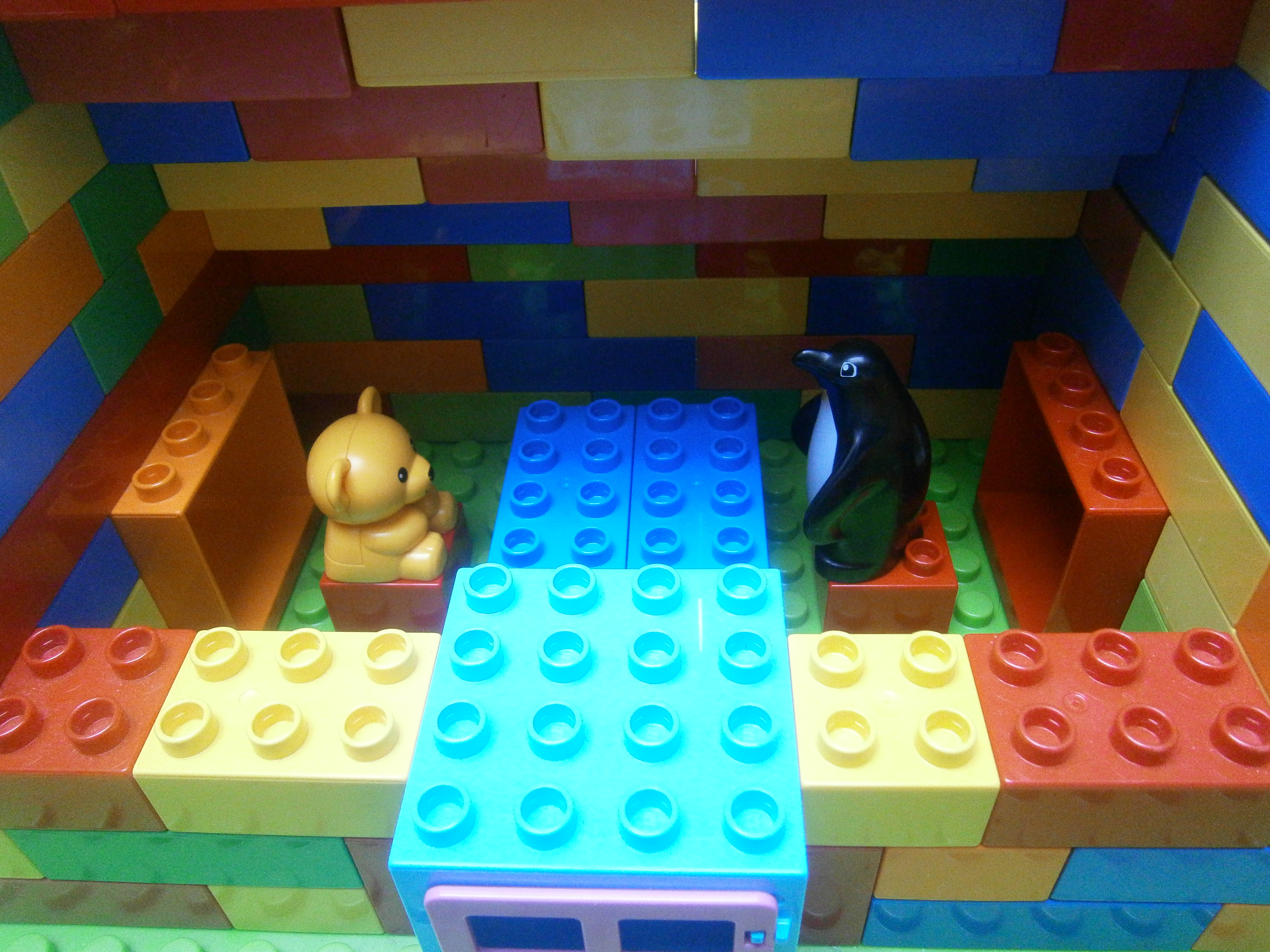 Lego Moc 1727 Duplo House Duplo 2014 Rebrickable Build With Lego