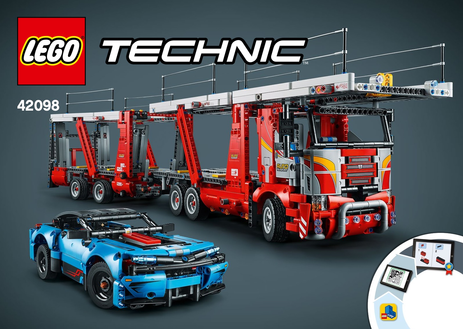 Review 42098 1 Car Transporter Rebrickable Build With Lego