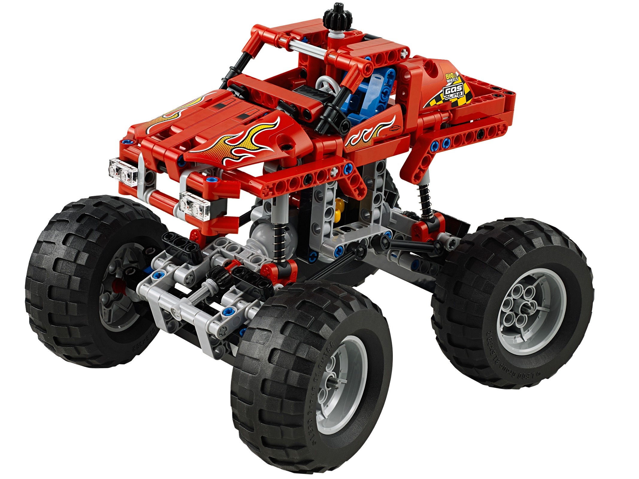 Review 31104 1 Monster Burger Truck Rebrickable Build With Lego