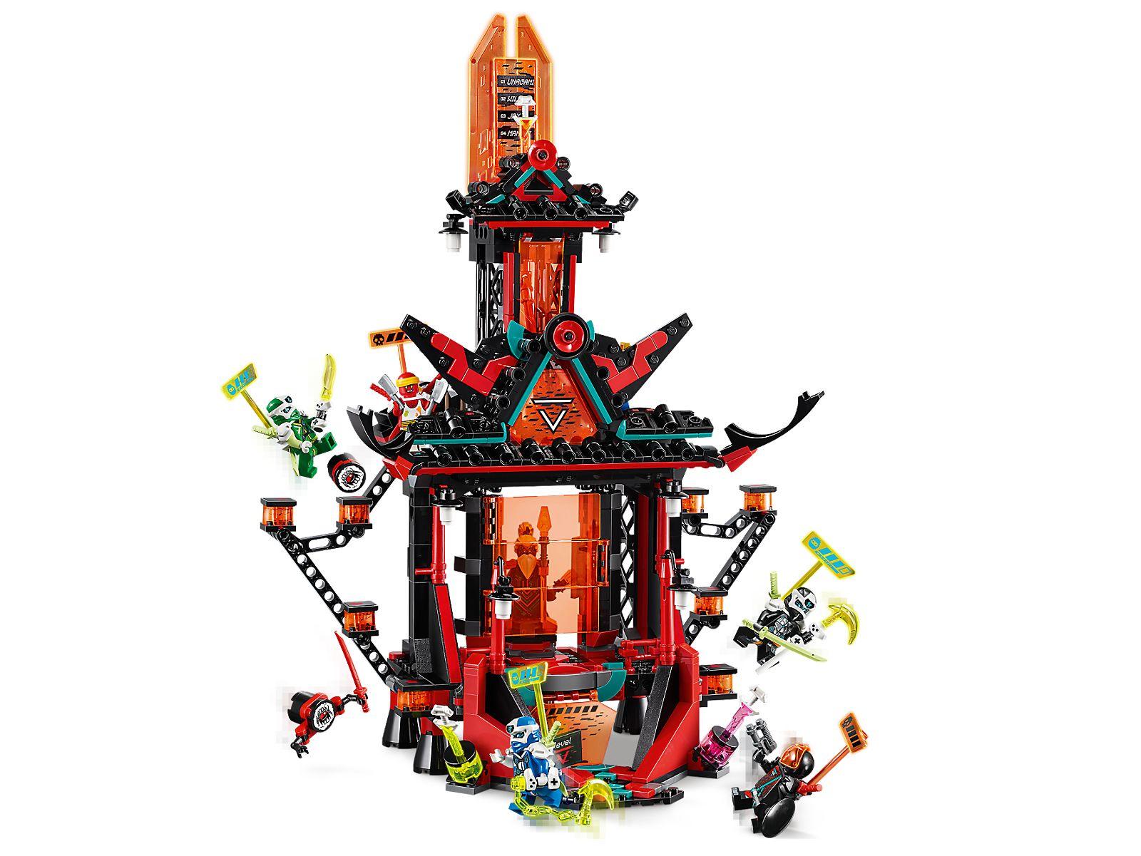 Review: Ninjago - Prime Empire Sets | Rebrickable - Build ...