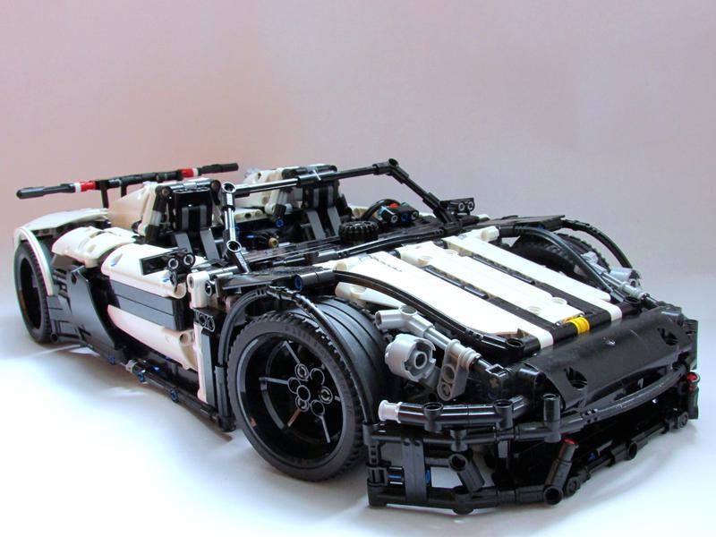 moc porsche 918 spyder lego technic mindstorms model team eurobr. Black Bedroom Furniture Sets. Home Design Ideas