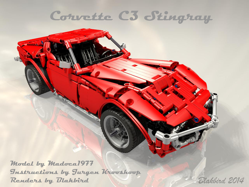 Madocas Corvette C3 Build Review And Instructions Lego Technic