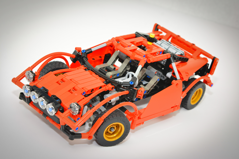 P-Lego -- Lancia Stratos (Alternate) - Bricksafe