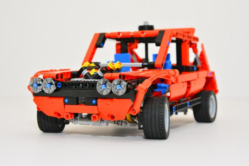 moc 2 p lego non rc remakes lancia stratos rally car. Black Bedroom Furniture Sets. Home Design Ideas