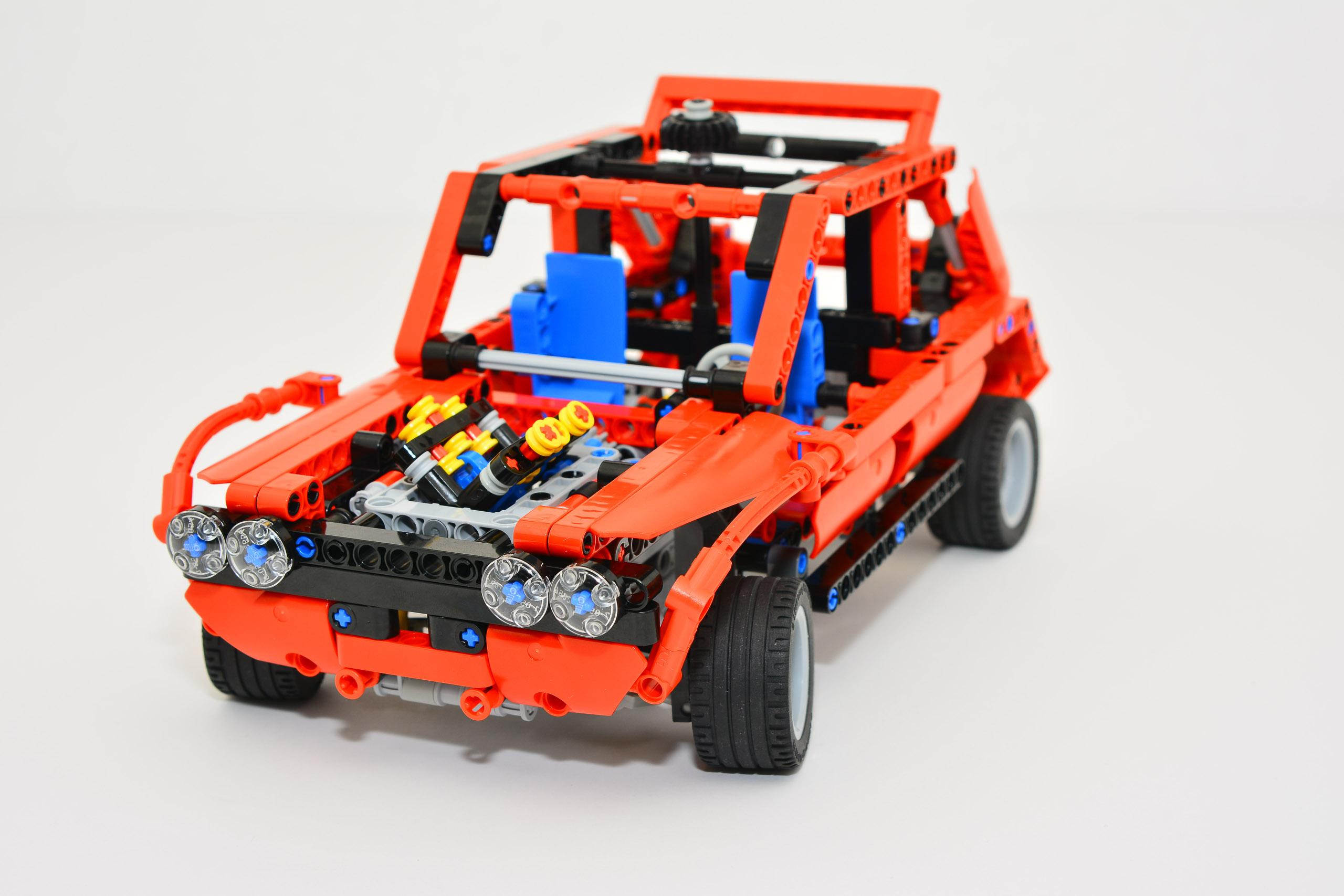 p lego small rally car alternate bricksafe. Black Bedroom Furniture Sets. Home Design Ideas