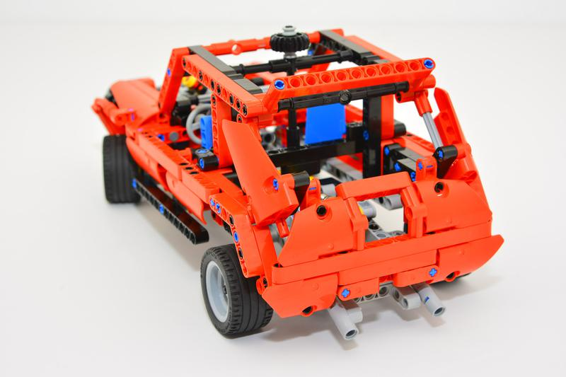 lego technic rally car instructions
