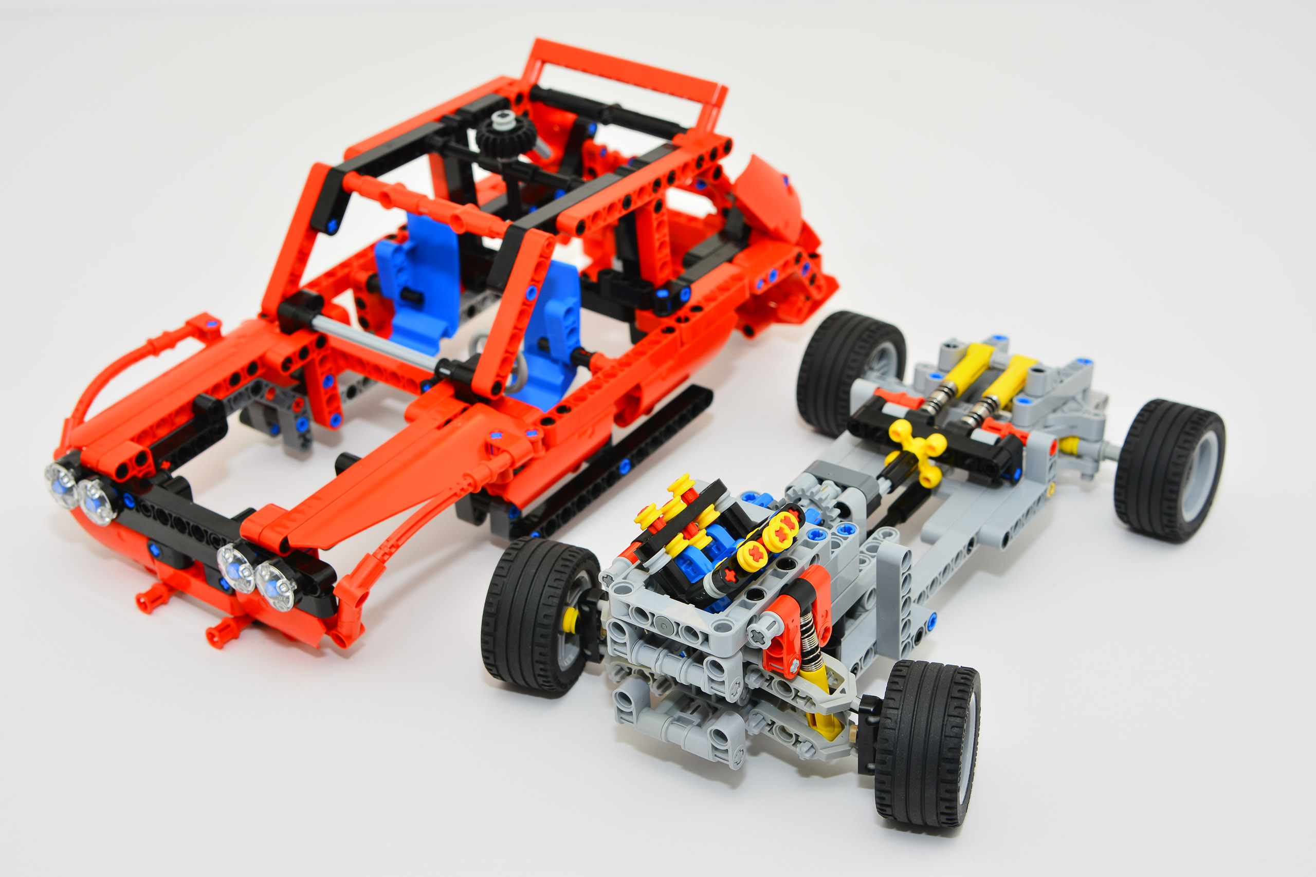 lego rally car instructions