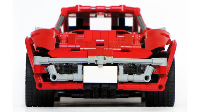 112 Lego Moc By Madoca1977 Chevrolet Corvette 1970 Stingray Bricksafe