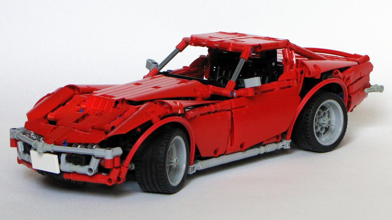 moc corvette c3 stingray page 4 lego technic. Black Bedroom Furniture Sets. Home Design Ideas