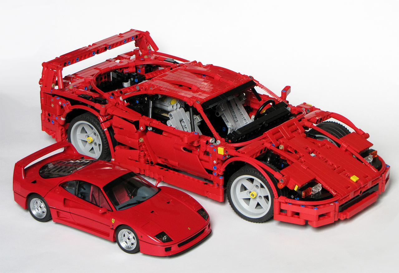 Ferrari F40 Page 4 Lego Technic Mindstorms Amp Model Team Eurobricks Forums