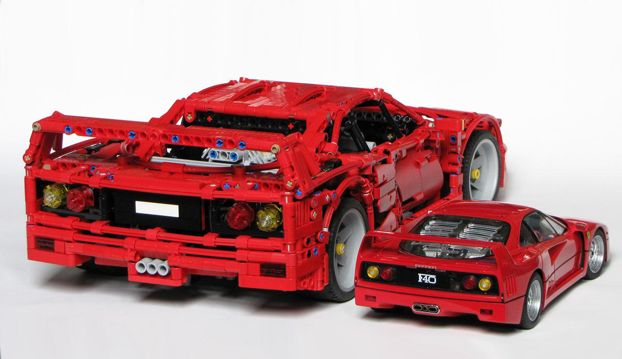 ferrari f40 page 4 lego technic mindstorms model. Black Bedroom Furniture Sets. Home Design Ideas