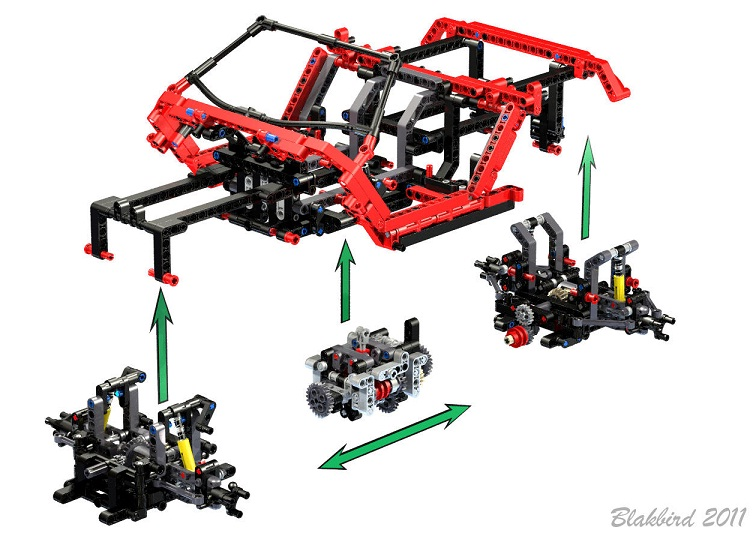 Outlaw A Crowkillers Production Page 2 Lego Technic
