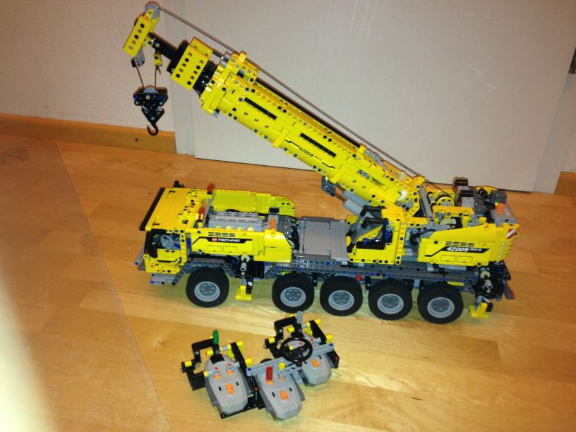 Ultimate 42009 Rc Mobile Crane Page 7 Lego Technic Mindstorms