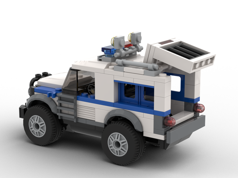 Lego Moc Lego City Undercover Vigilant By Labronco Brick Designs Rebrickable Build With Lego
