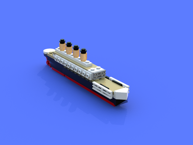 Lego Moc 12422 Breaking Titanic Creator Model 2018 Rebrickable
